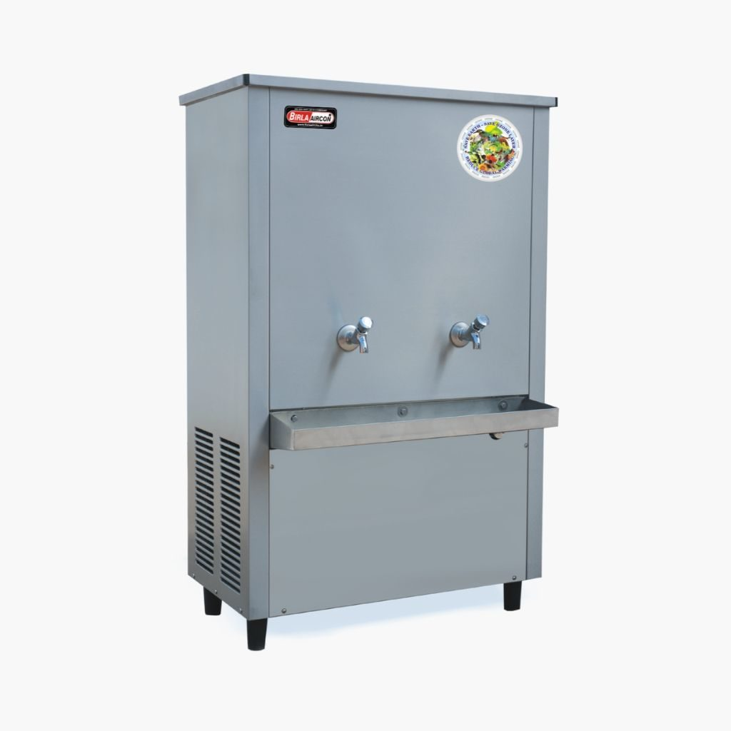 steel water cooler 120 ltr
