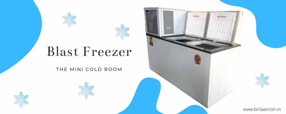 Why is it beneficial to buy a blast freezer or instant hardener?