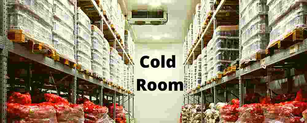 Items that need to be kept in the refrigerator/cold storage