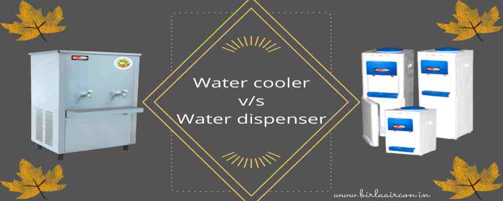 The big difference between water dispenser online and water cooler