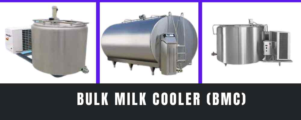 What is the importance of a bulk milk cooler?